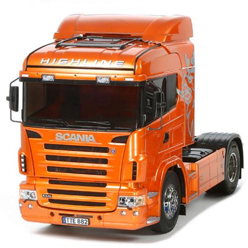 Tamiya 56338 1 14 Scania R470 Highline Orange Edition Kit