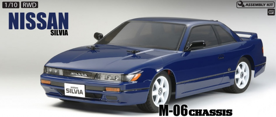 Tamiya 58532 M 06 1 10 Nissan Silvia S13 Kit L 248 Ten Rc
