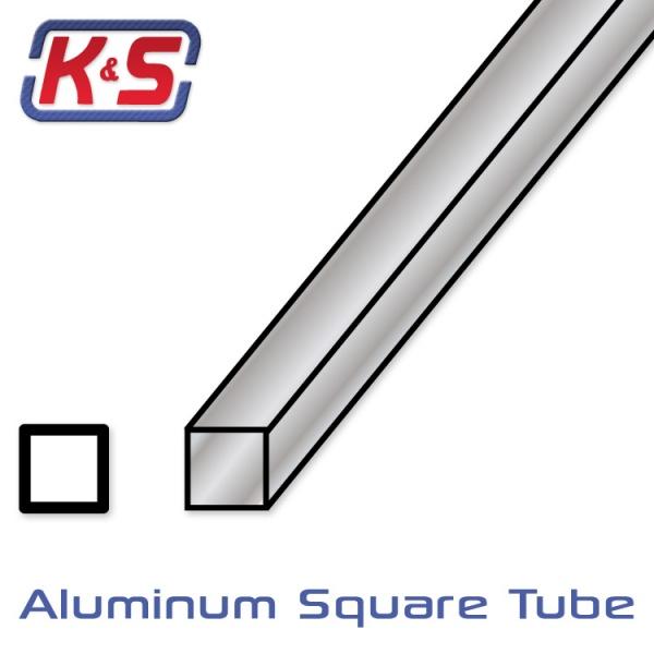 aluminium firkantr r 1stk l ten rc shop as. Black Bedroom Furniture Sets. Home Design Ideas