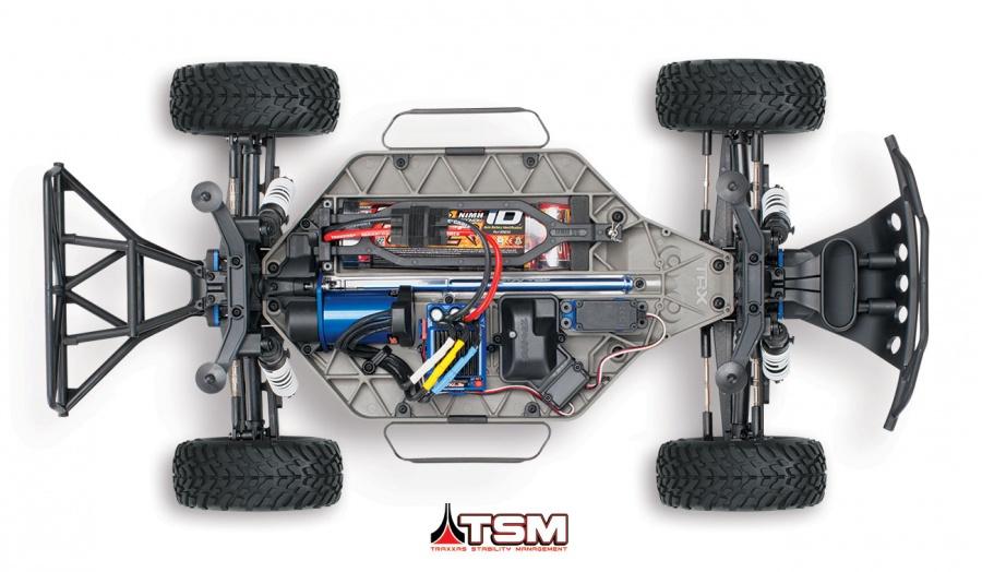 Traxxas Slash VXL 4x4 RTR 2.4GHz TQi TSM uten batterilader