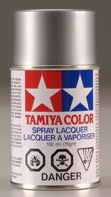 Metallic lakk spray